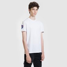 Мужская футболка Alpha Industries Nasa T White фото- 1