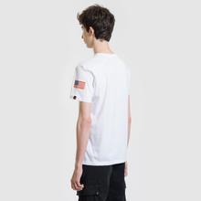 Мужская футболка Alpha Industries Nasa T White фото- 3
