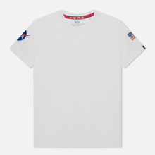 Мужская футболка Alpha Industries Nasa T White фото- 0