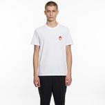 Мужская футболка AMI Patch Smiley White фото- 4