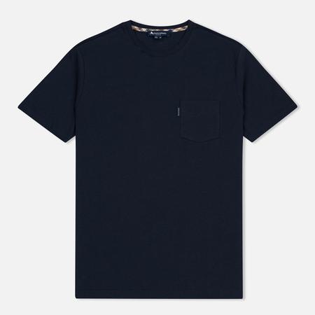 Мужская футболка Aquascutum Cullen Crew Neck Navy