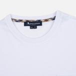 Мужская футболка Aquascutum Cullen Crew Neck White фото- 1