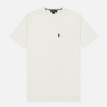 Мужская футболка Aquascutum Cullen Plain Chalk