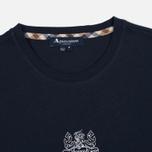Мужская футболка Aquascutum Griffin Crew Neck Logo SS Navy фото- 1