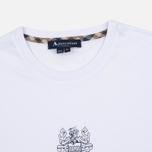 Мужская футболка Aquascutum Griffin Crew Neck Logo SS White фото- 1