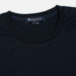Мужская футболка Aquascutum Reid Printed Crew Neck SS Navy фото- 1