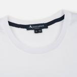 Мужская футболка Aquascutum Reid Printed Crew Neck SS White фото- 1
