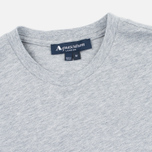 Aquascutum Stratton Logo Print Men's T-shirt Grey photo- 1