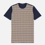 Мужская футболка Aquascutum Thornton Club Check Vicuna фото- 0