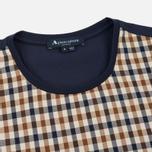 Мужская футболка Aquascutum Thornton Club Check Vicuna фото- 1