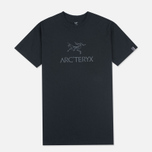Мужская футболка Arcteryx Arc Word SS Black/Iron Anvil фото- 0