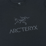 Мужская футболка Arcteryx Arc Word SS Black/Iron Anvil фото- 2