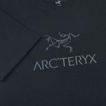 Мужская футболка Arcteryx Arc Word SS Black/Iron Anvil фото- 3