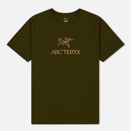 Мужская футболка Arcteryx Arc'Word SS Bushw