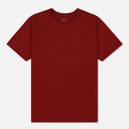 Мужская футболка Arcteryx Emblem SS Red Bea
