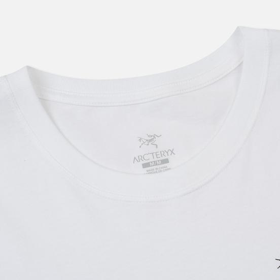 Мужская футболка Arcteryx Emblem SS White