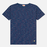 Мужская футболка Armor-Lux Heritage Manches Courtes Oceano Blue/Red фото- 0