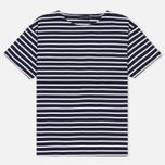 Мужская футболка Armor-Lux Mariniere Doelan Navy/White фото- 0