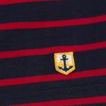 Мужская футболка Armor-Lux Mariniere Manches Courtes Dark Blue/Dark Red фото- 2