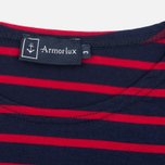 Мужская футболка Armor-Lux Mariniere Theviec Dark Blue/Dark Red фото- 2