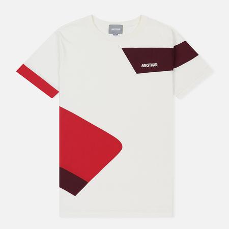 Мужская футболка ASICS Colour Block Cream
