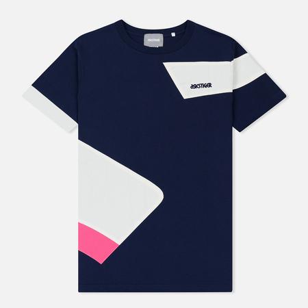Мужская футболка ASICS Colour Block Peacoat
