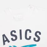 ASICS Stripes Men's T-shirt White photo- 1
