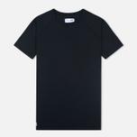 ASICS x Reigning Champ Tee Men's T-shirt Black/Black photo- 0