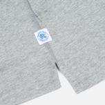 Мужская футболка ASICS x Reigning Champ Tee Grey/Grey фото- 4