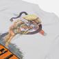 Мужская футболка ASSID Death Is Cool White фото - 2