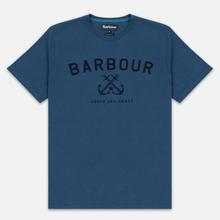 Мужская футболка Barbour Asher Deep Sea фото- 0