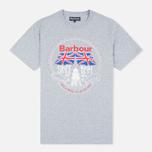 Мужская футболка Barbour Beach Bungalow Grey Marl фото- 0