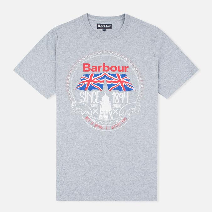 Barbour Beach Bungalow Men's T-shirt Grey Marl