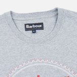 Barbour Beach Bungalow Men's T-shirt Grey Marl photo- 1