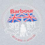 Мужская футболка Barbour Beach Bungalow Grey Marl фото- 2