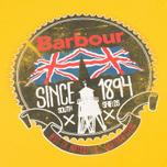 Мужская футболка Barbour Beach Bungalow Mustard фото- 2