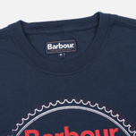 Barbour Beach Bungalow Men's T-shirt Navy photo- 1