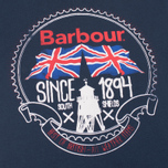 Barbour Beach Bungalow Men's T-shirt Navy photo- 2