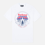 Мужская футболка Barbour Beach Bungalow White фото- 0