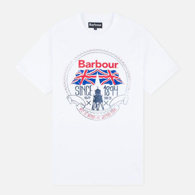 Мужская футболка Barbour Beach Bungalow White