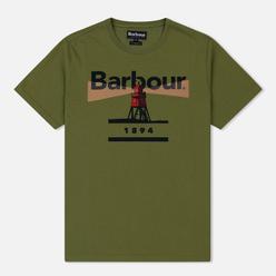 Мужская футболка Barbour Beacon 94 Burnt Olive