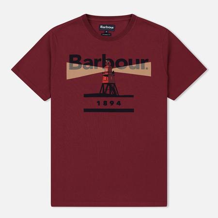 Мужская футболка Barbour Beacon 94 Ruby