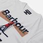Мужская футболка Barbour Beacon 94 White фото - 1
