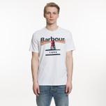 Мужская футболка Barbour Beacon 94 White фото- 3