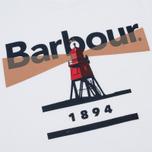 Мужская футболка Barbour Beacon 94 White фото- 2