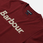 Мужская футболка Barbour Big Printed Logo Ruby фото - 1