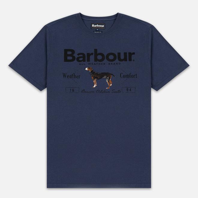 Мужская футболка Barbour Country Dog Navy