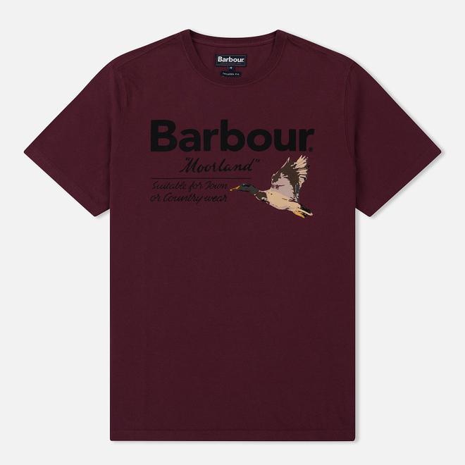 Мужская футболка Barbour Country Merlot