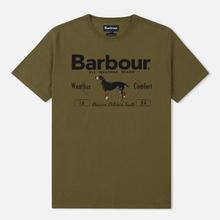 Мужская футболка Barbour Country Mid Olive фото- 0