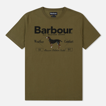 Мужская футболка Barbour Country Mid Olive